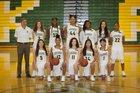 Kentridge Chargers Girls Varsity Basketball Winter 17-18 team photo.