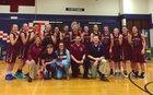 The Classical Academy Titans Girls Varsity Basketball Winter 17-18 team photo.