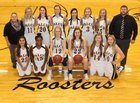 Palco Roosters Girls Varsity Basketball Winter 17-18 team photo.