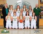 Northwest Christian School Crusaders Girls Varsity Basketball Winter 17-18 team photo.