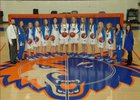 Cedar Ridge Timberwolves Girls Varsity Basketball Winter 17-18 team photo.