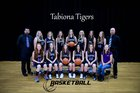 Tabiona Tigers Girls Varsity Basketball Winter 17-18 team photo.