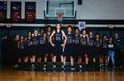 Havelock Rams Girls Varsity Basketball Winter 17-18 team photo.