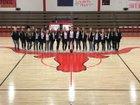 Logan Longhorns Girls Varsity Basketball Winter 17-18 team photo.