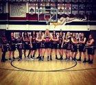 Murrieta Valley Nighthawks Girls Varsity Basketball Winter 17-18 team photo.