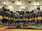 San Dimas Saints Girls Varsity Basketball Winter 17-18 team photo.