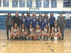Dexter Demons Girls Varsity Basketball Winter 17-18 team photo.