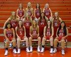 Green Forest Tigers Girls Varsity Basketball Winter 17-18 team photo.