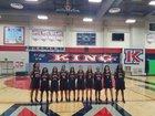 King Wolves Girls Varsity Basketball Winter 17-18 team photo.