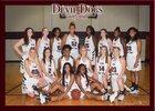 Morrilton Devil Dogs Girls Varsity Basketball Winter 17-18 team photo.