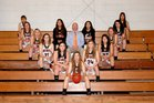 Oden Timberwolves Girls Varsity Basketball Winter 17-18 team photo.