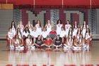 Mater Dei Monarchs Girls Varsity Basketball Winter 17-18 team photo.