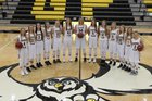 Garden Plain Owls Girls Varsity Basketball Winter 17-18 team photo.