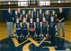 Watkins Glen Senecas Girls Varsity Basketball Winter 17-18 team photo.
