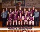 Montesano Bulldogs Girls Varsity Basketball Winter 17-18 team photo.