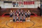 Pelahatchie Chiefs Girls Varsity Basketball Winter 17-18 team photo.