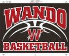Wando Warriors Girls Varsity Basketball Winter 17-18 team photo.