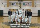 Overlake Owls Girls Varsity Basketball Winter 17-18 team photo.