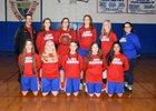 Caddo Hills Indians Girls Varsity Basketball Winter 17-18 team photo.