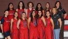 Draper APA  Girls Varsity Basketball Winter 17-18 team photo.