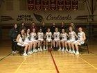 Medical Lake Cardinals Girls Varsity Basketball Winter 17-18 team photo.