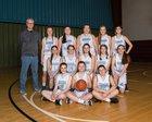 Rainier Christian Mustangs Girls Varsity Basketball Winter 17-18 team photo.