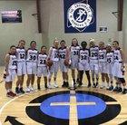 Wilmington Christian Academy Patriots Girls Varsity Basketball Winter 17-18 team photo.