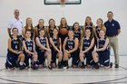 New Covenant School Cavaliers Girls Varsity Basketball Winter 17-18 team photo.