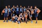 Alief Elsik Rams Girls Varsity Basketball Winter 17-18 team photo.