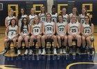 Susquehanna Valley Sabers Girls Varsity Basketball Winter 17-18 team photo.