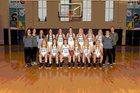 Watauga Pioneers Girls Varsity Basketball Winter 17-18 team photo.