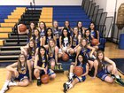 Morrill Lions Girls Varsity Basketball Winter 17-18 team photo.
