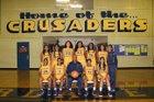 Riverdale Baptist Crusader Girls Varsity Basketball Winter 17-18 team photo.