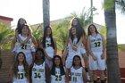 Don Lugo Conquistadores Girls Varsity Basketball Winter 17-18 team photo.