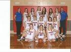 Oregon Hawks Girls Varsity Basketball Winter 17-18 team photo.