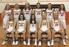 Licking Wildcats Girls Varsity Basketball Winter 17-18 team photo.