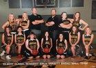 Gilbert Classical Academy Spartans Girls Varsity Basketball Winter 17-18 team photo.