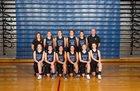 Walla Walla Blue Devils Girls Varsity Basketball Winter 17-18 team photo.