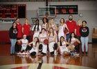 Grand Junction Central Warriors Girls Varsity Basketball Winter 17-18 team photo.