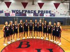 Black Hills Wolves Girls Varsity Basketball Winter 17-18 team photo.