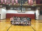 Manti Templars Girls Varsity Basketball Winter 17-18 team photo.