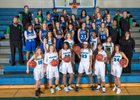 Doherty Spartans Girls Varsity Basketball Winter 17-18 team photo.