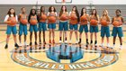 Pebble Hills Spartans Girls Varsity Basketball Winter 17-18 team photo.