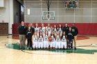 Covenant Christian Warriors Girls Varsity Basketball Winter 17-18 team photo.