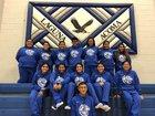 Laguna Acoma Hawks Girls Varsity Basketball Winter 17-18 team photo.