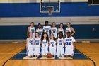 Conwell-Egan Catholic Eagles Girls Varsity Basketball Winter 17-18 team photo.