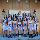 Discovery Canyon Thunder Girls Varsity Basketball Winter 17-18 team photo.
