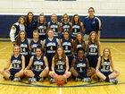 Lakeland Christian Academy Cougars Girls Varsity Basketball Winter 17-18 team photo.