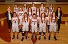 Lincoln Wolves Girls Varsity Basketball Winter 17-18 team photo.
