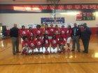 Greenville Patriots Girls Varsity Basketball Winter 17-18 team photo.
